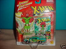 JL MARVEL X-MEN CUSTOM CONTINENTAL #6 CHASE CAR WITH RUBBER TIRES FREE USA SHIP