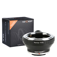K&F Concept adapter with tripod for KONICA AR mount lens to Pentax Q camera Q10
