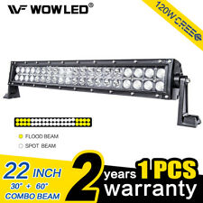 """Wow - 120W 24"""" LED Barra de luz de conducción para Offroad Coche Camión SUV 4WD ATV Luz"""