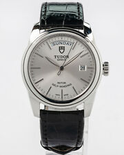 Pre-Owned Tudor 2019 Stainless Steel Glamour Date + Day w/ Box & Card!