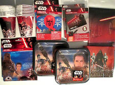 STAR WARS Episode VII :Force Awakens Birthday Party Supply DELUXE Kit w/Balloons