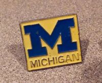 Michigan Wolverines lapel pin pre-owned  NCAA University