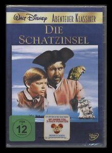 DVD WALT DISNEY - DIE SCHATZINSEL - WALT DISNEY ABENTEUER KLASSIKER *** NEU ***