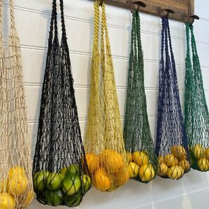 Hand Knotted Fair Trade Jute String Bag - set of 2/colour FOR $45