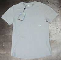 Under Armour UA Athlete Recovery Sleepwear ? Mens Short Sleeve Shirt Medium Gray