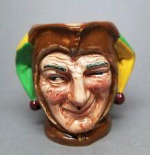"Vintage Royal Doulton Jester Small 3-1/8"" Toby Character Mug Jug D5556 ""A"" Mark"