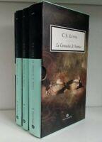 C.S. LEWIS LE CRONACHE DI NARNIA - Oscar Mondadori, cofanetto 3 volumi
