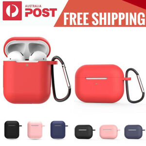 For Apple AirPods1 2 Pro Silicone Case Slim Skin LED Visible AntiLost Shockproof