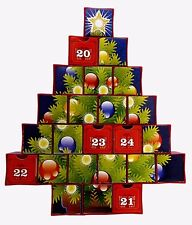 Plastic Puzzle Tree shaped Advent Calendar