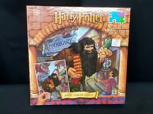 NEW, Sealed 2001 Mattel Harry Potter 260 Piece Family Jigsaw Puzzle Factory