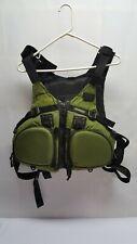 Stohlquist Olive Green Tactical Fisherman ZIPSEA Life Jacket Model 5801