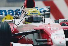 Ralf Schumacher Hand Signed Panasonic Toyota F1 12x8 Photo 1.