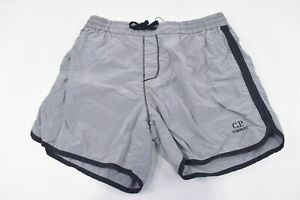 C.P. (CP) Company NWT Beachwear Boxer Swim Suit Size 48 S US In Gray & Black