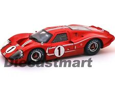 SC423 1967 FORD GT MK IV RED #1 LEMANS WINNER 24HRS 1:18 SHELBY COLLECTIBLES