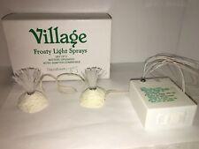 Dept. 56 Heritage Village Frosty Light Sprays Set of 2 #52682