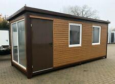 Bürocontainer Wohncontainer Gartenhaus Gartenlaube Bungalow Büro