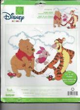 Janlynn Disney Home Pooh Tigger Jump Rope Counted Cross Stitch Kit Piglet