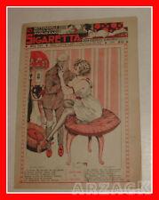 LA SIGARETTA 824 NERBINI 14/5/1922 rivista erotica