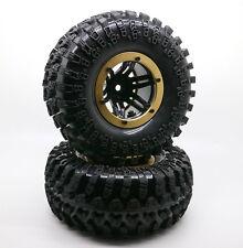 "4PCS 2.2"" Inflatable Tires W/ Alloy Beadlock Wheels 1/10 RC Crawler CAR 3022GD"