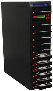 "SySTOR 1:11 SATA 3.5"" 2.5"" Hard Disk Drive HDD/SSD Duplicator Sanitizer -300MB/s"