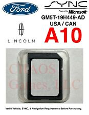 Ford & Lincoln SYNC A10 USA Canada GPS Navigation Map SD Card Update A9 A8 A7 A6