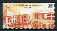 India 2018 MNH Patna University 1v Universities Education Architecture Stamps