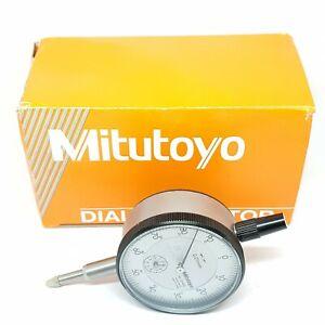 Mitutoyo 2046S Dial Indicator DTI Clock 10mm Gauge Test Inspection 0.01mm Metric