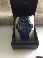CASIO G-SHOCK 3422 BLUE MILITARY CAMOUFLAGE WATCH LIMITED JAPAN ONLY NEW BOX
