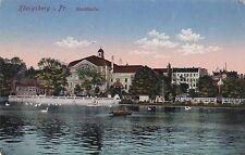 O 280 -  Königsberg, Stadthalle, Feldpost 1916 gelaufen