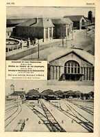 Der neue badische Bahnhof in Basel Gesamtansicht Histor.Bilddokumente von 1913