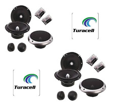 "4 x SOUNDSTREAM PF.6 6.5-INCH 6.5"" 2-WAY CAR AUDIO COMPONENT SPEAKERS NEW!"