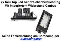 2x TOP LED Module Kennzeichenbeleuchtung VW Golf VII 7 Kombi BA5 BV5 (ADPN