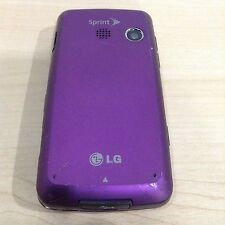 Sprint LG Rumor Touch Purple Model LN 510 for parts or Repair