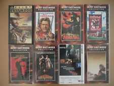 Clint Eastwood VHS-Collection