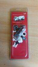 Herpa Minikit 013147 - 1/87 Mb Arocs M Betonmischer 4-Achs - Weiss - Neu