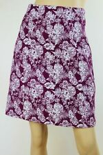 Cue Above Knee Floral Regular Size Skirts for Women