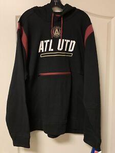 NEW W TAGS -Men's Atlanta United FC Front Zip Pocket Hoodie Jacket -3XL-MSRP $75