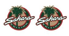 "Set of (2) Sahara Decals/Sticker for your Jeep 3.5"" wrangler Full Color p54"