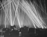 "Anti-Aircraft Firing on German Bombers 8""x 10"" World War II WW 2 Photo 476"
