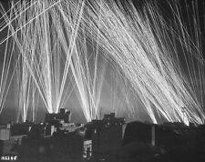 "Anti-Aircraft Firing on German Nazi Bombers 8""x 10"" World War II WW 2 Photo 476"