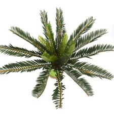 Artificial Palm Tree Green Large Leaf Plants with Plastic Leaves Garden Decor