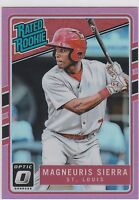 Magneuris Sierra 2017 Donruss Optic Pink #58 Rated Rookie