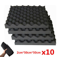 10pc Car Soundproofing Sound Absorption Acoustic Foam Sound Deadening Insulation