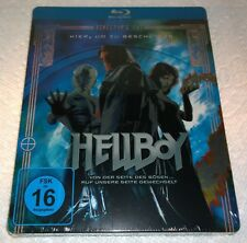 Hellboy (2009, Germany, Region Free) Steelbook NEW