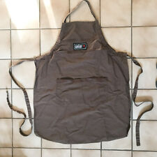 Weber Outdoor BBQ Grill Apron Brown with Pockets - Excellent condition