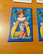 DRAGON BALL Z GT DBZ JAPANESE MENCO MENKO CARDDASS CARD CARTE JAPAN ** #B42