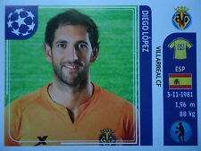 Panini 23 Diego Lopez Villarreal CF UEFA CL 2011/12