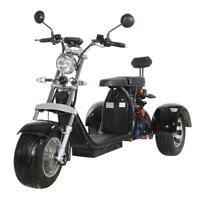 NEW electric scooter big wheels 2000W 40AH 2 seat E-sccoter EEC/COC Street Legal