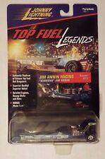 "Johnny White Lightning Top Fuel Legends Jim Annin Racing 1973  ""Diamond""  Chase!"