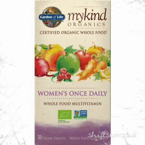Mykind Organics Women's Once Daily 30 Vegan Tablets Best Before End :05/2021
